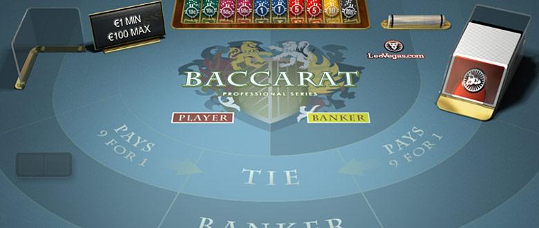 baccarat-professional