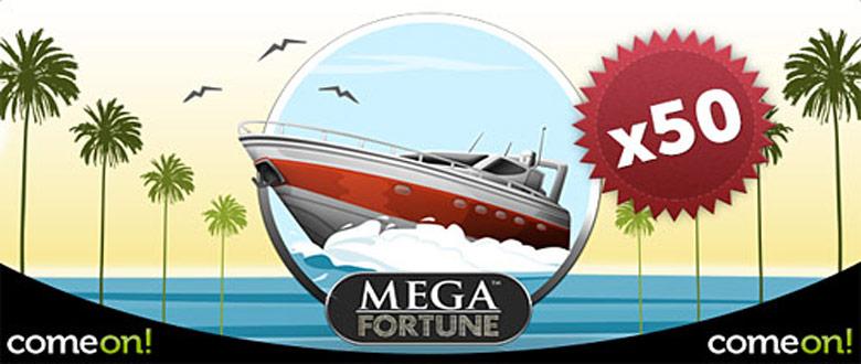comeon-mega-fortune-50-gratisrundor