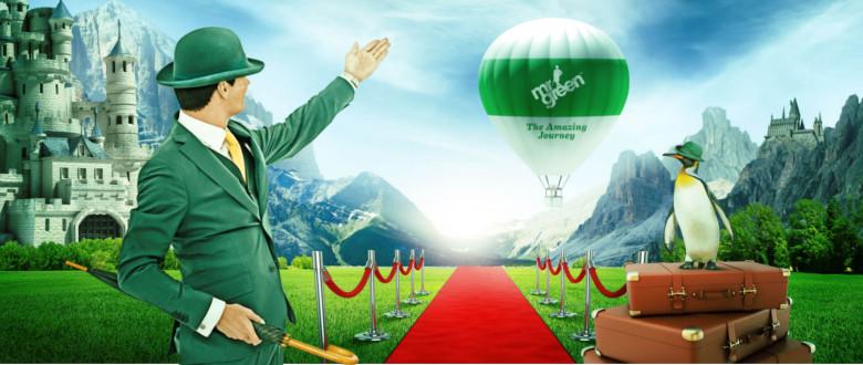 Mr Green rullar ut röda mattan med välkomstbonus