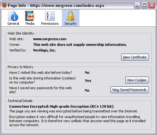 silikondukke voksen 128 bit SSL-kryptering