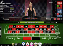 Live Roulette HD på Mr Green
